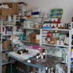 Veterinär-Behandlungsraum