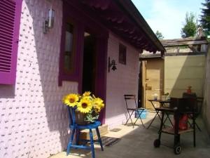 Urlaub mit Hund - Ferienhaus Hirtengarten im Odenwald